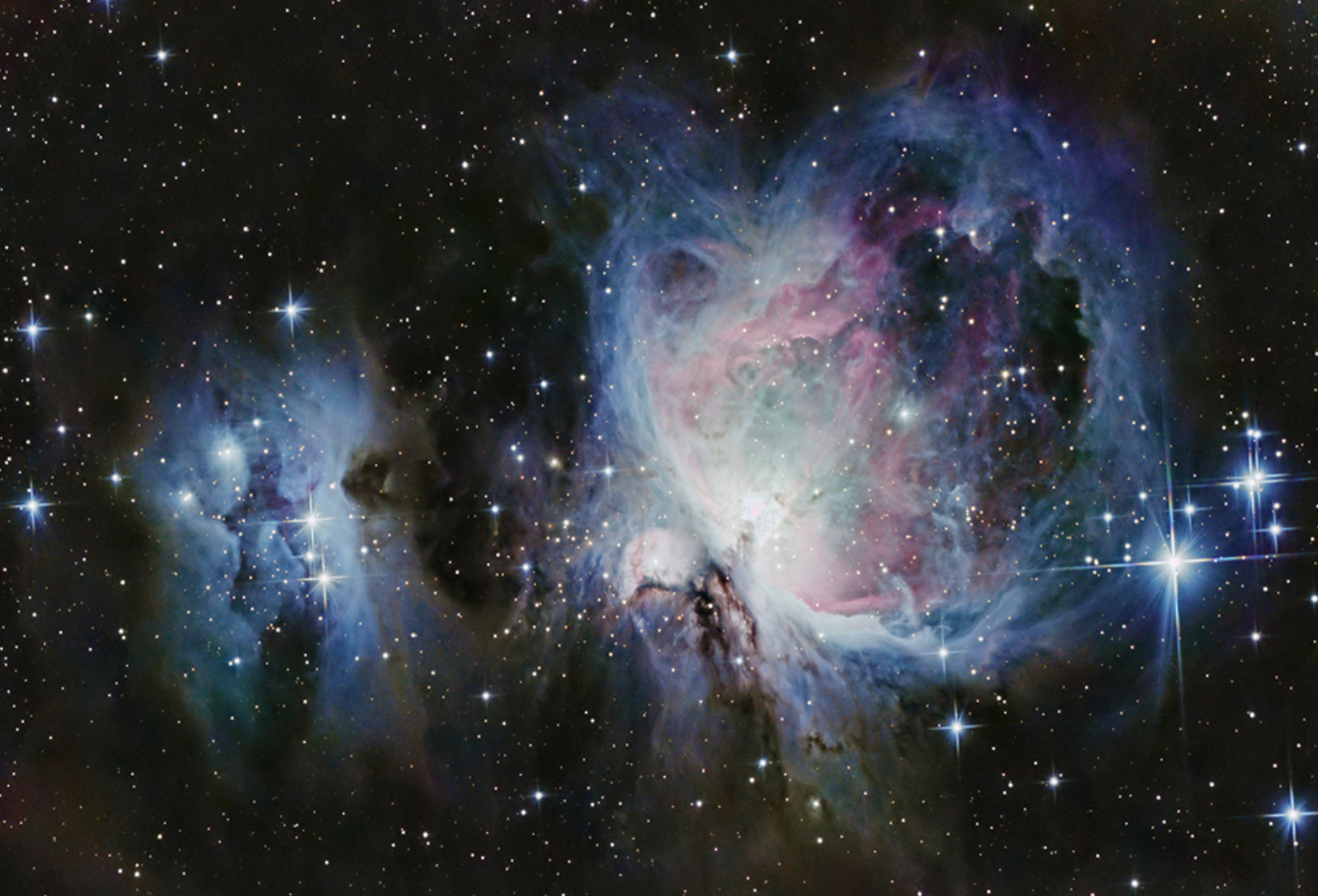 Orion and Running Man Nebulas, photo taken by Ethan Catalanello
