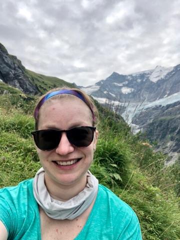 Dr. Adamo in the Swiss Alps.